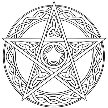 Пентаграмма Могущество Света