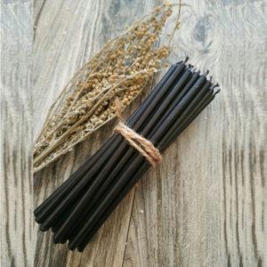 Свеча чёрная для магических ритуалов